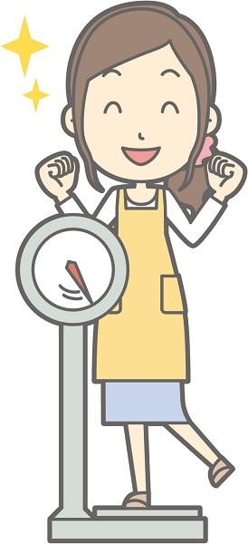 食事系で体重を減らしたい女性